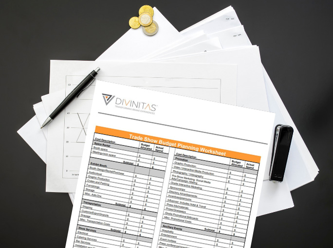 Trade Show booth budget planner