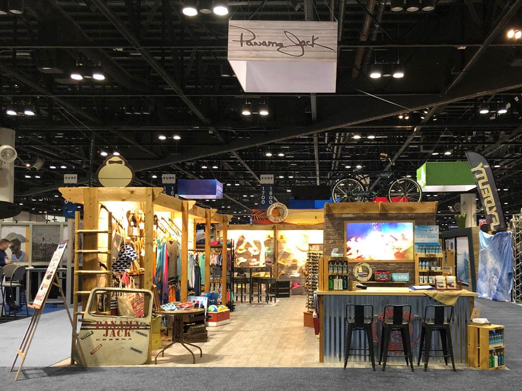 Custom Tradeshow Exhibit - Panama Jack